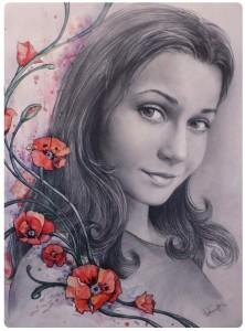 Портрет карандашом 12