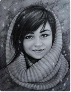 Портрет карандашом 1