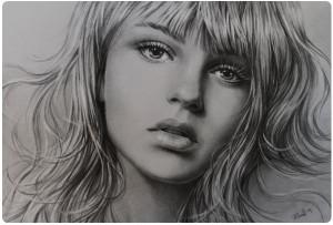 Портрет карандашом 7