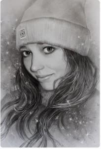Портрет карандашом 3