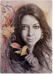Портрет карандашом 14