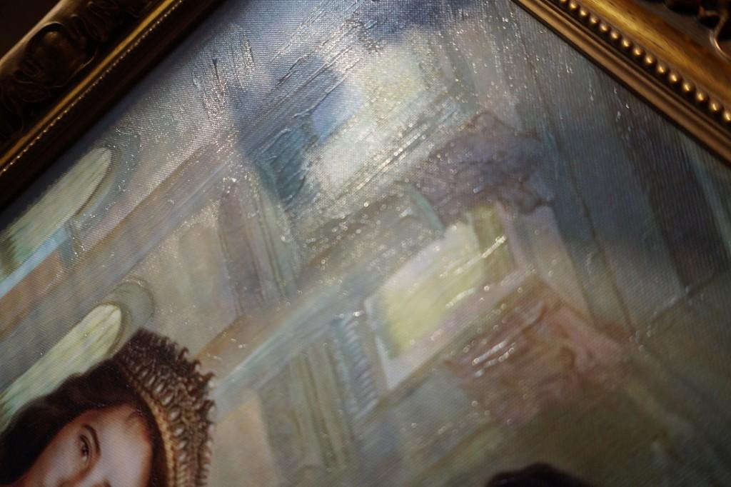 Холст с покрытием фактурным гелем