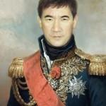 Портрет имитация живописи на холсте 4
