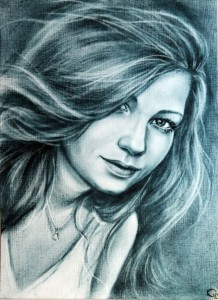 Портрет девушке