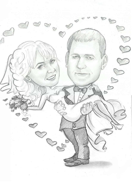 Рисунок родителям на годовщину свадьбы 19 лет, крановщика