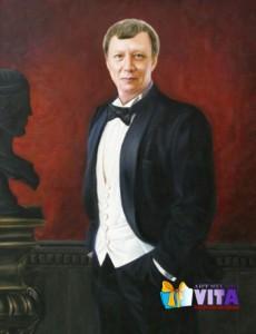 Исторический портрет. Имитация живописи