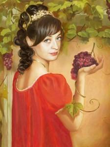 Цифровой портрет по фото Портрет жене