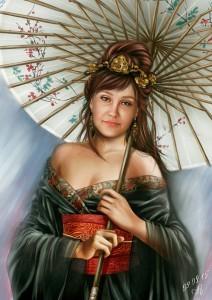Цифровой портрет по фото 3