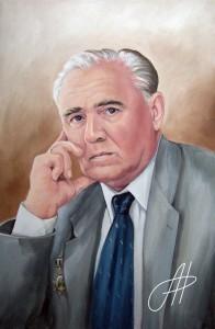 Портрет маслом мужчины 2