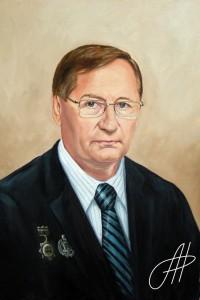 Портрет маслом мужчины 5