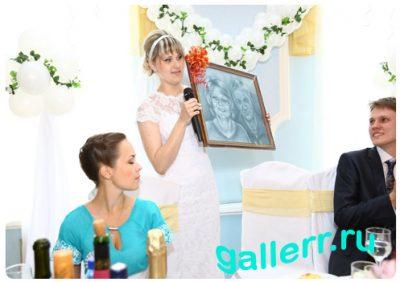 подарок на свадьбу портрет