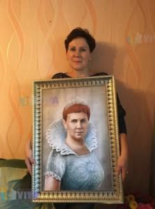 Клиент с цифровым портретом