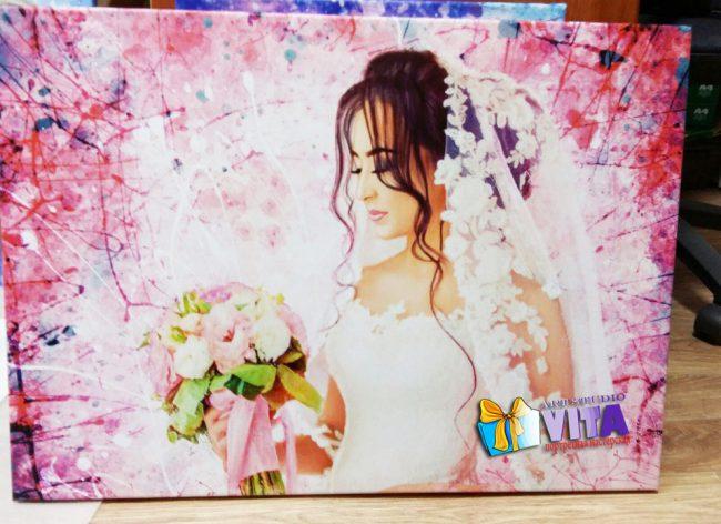 портрет на свадьбу
