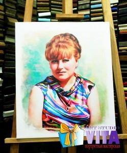 Цифровые портреты. Цифровое масло. Цифровая живопись