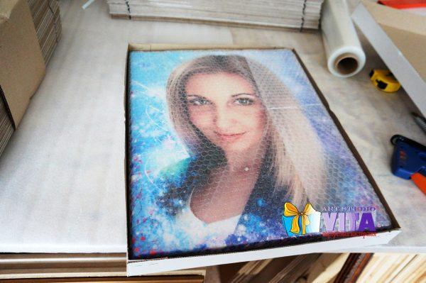 Портрет шарж упаковка