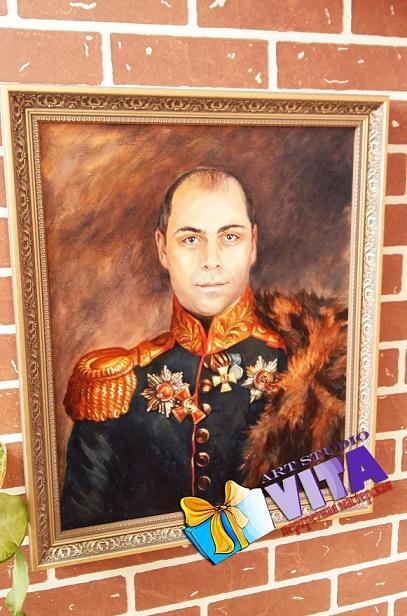 Оригинальный портрет маслом в Твери
