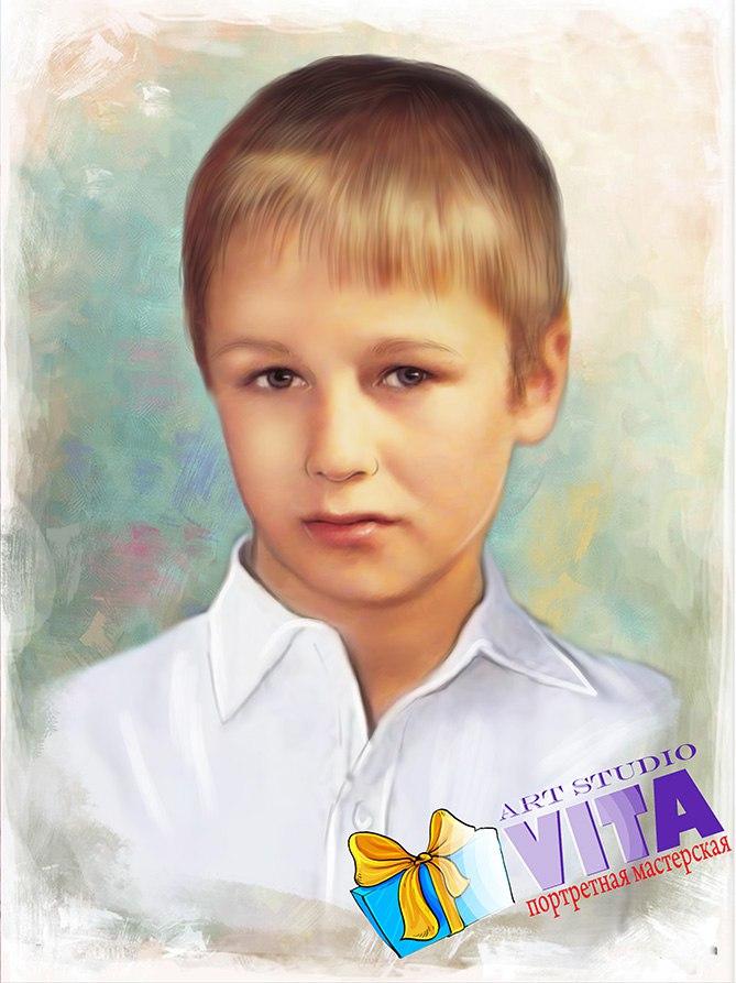 Портрет ребенка в Твери