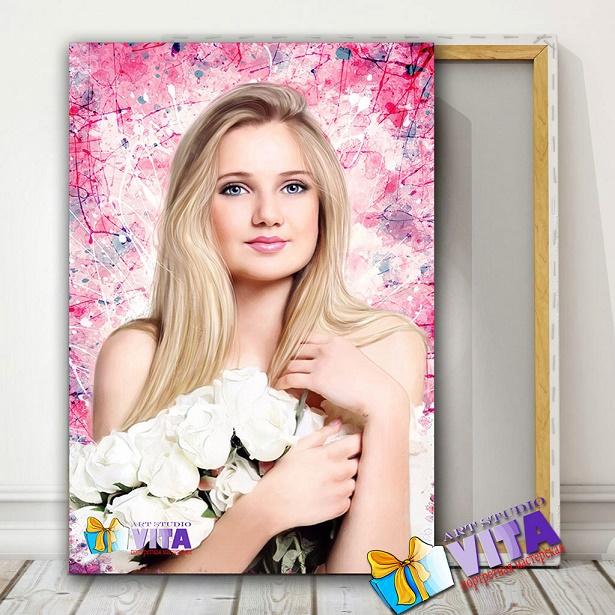 Портрет девушке в Минске