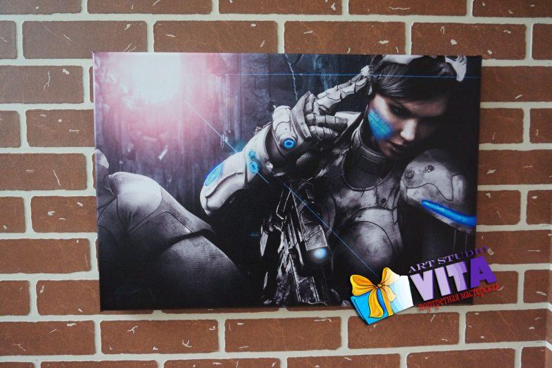 Постер из игры