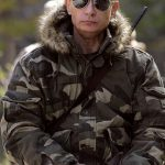 Russian Prime Minister Vladimir Putin on expedition to Ubsunur Hollow Biosphere Preserve