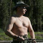 Russian President Vladimir Putin visiting Republic of Tuva