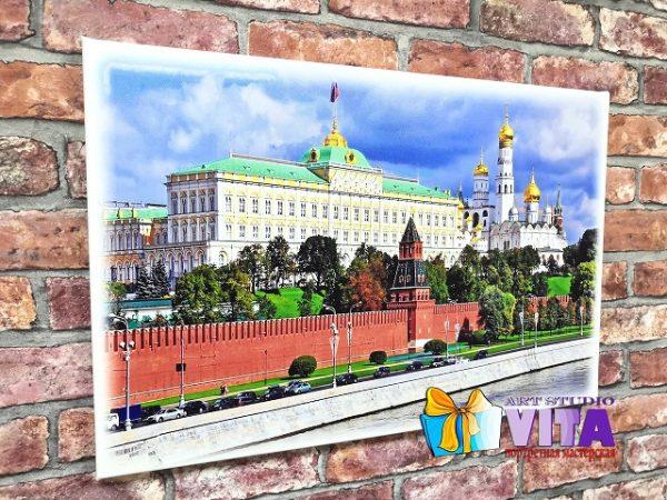 печать на холсте Москвы2