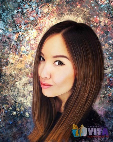Портреты в стиле Дрим Арт Dream Art