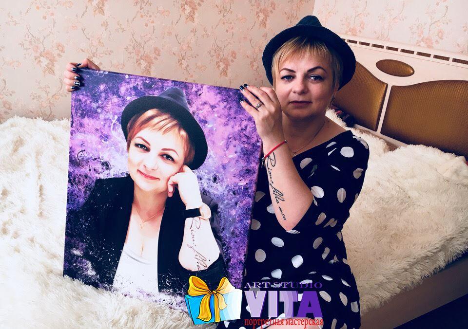 портрет дрим арт для мамы