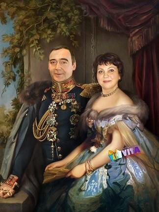 Имитация живописи портрет исторический