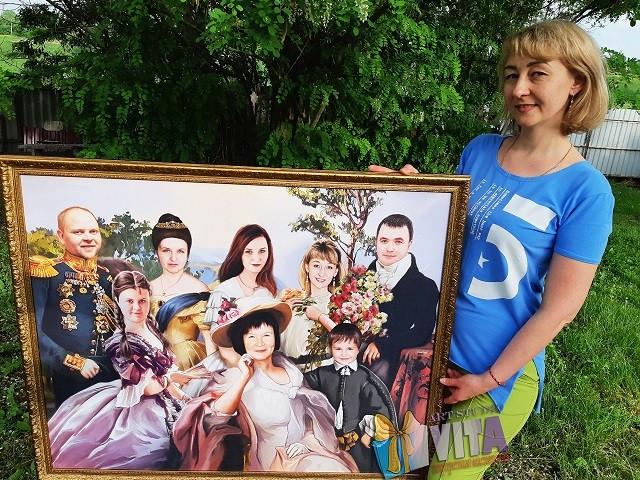 Портрет семейный в образе2