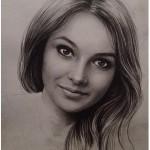 Заказать портрет по фото карандашом 2