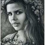 Заказать портрет по фото карандашом 3
