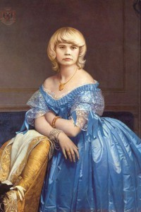портрет на холсте имитация живописи