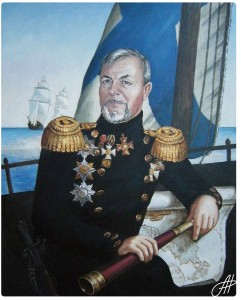 Портрет маслом 3