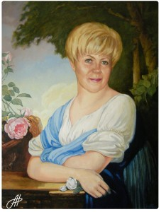 Портрет маслом 6