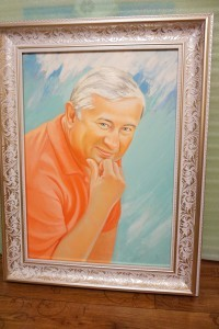 Портрет маслом мужчины