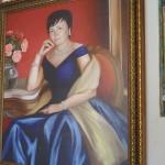 Портрет цифровой на холсте 4