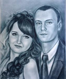 портрет на свадьбу в Астане