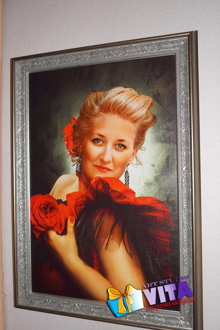 Портрет на заказ в Ярославле Заказать портрет по фото в