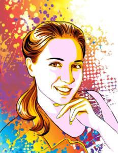 Заказать Поп Арт портрет От Vita Studio 2
