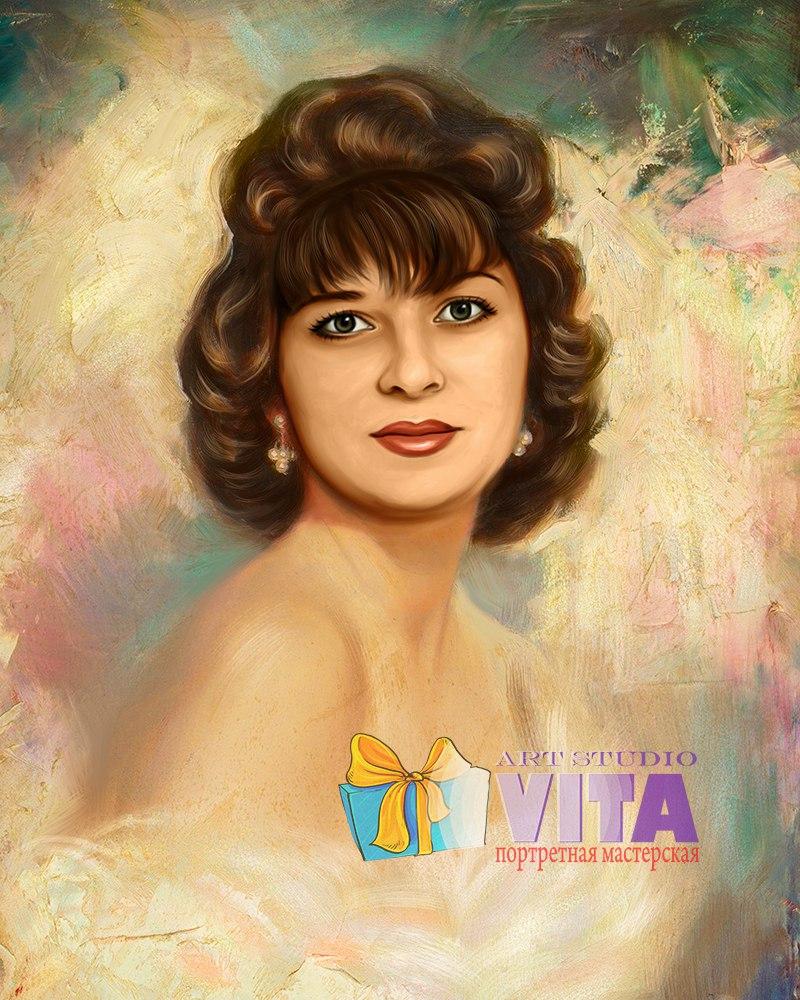 Портрет мамы в Омске