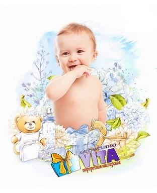 Портрет ребенка в Астрахани