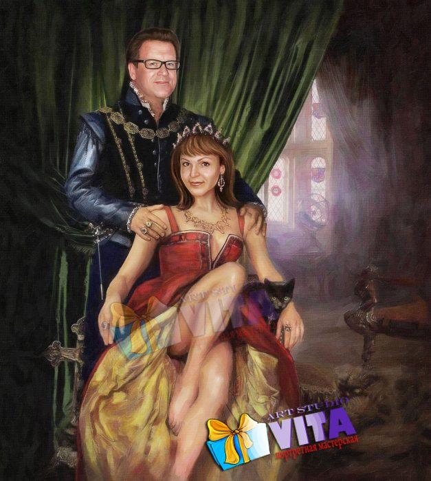 Оригинальный портрет -имитация живописи в Кирове
