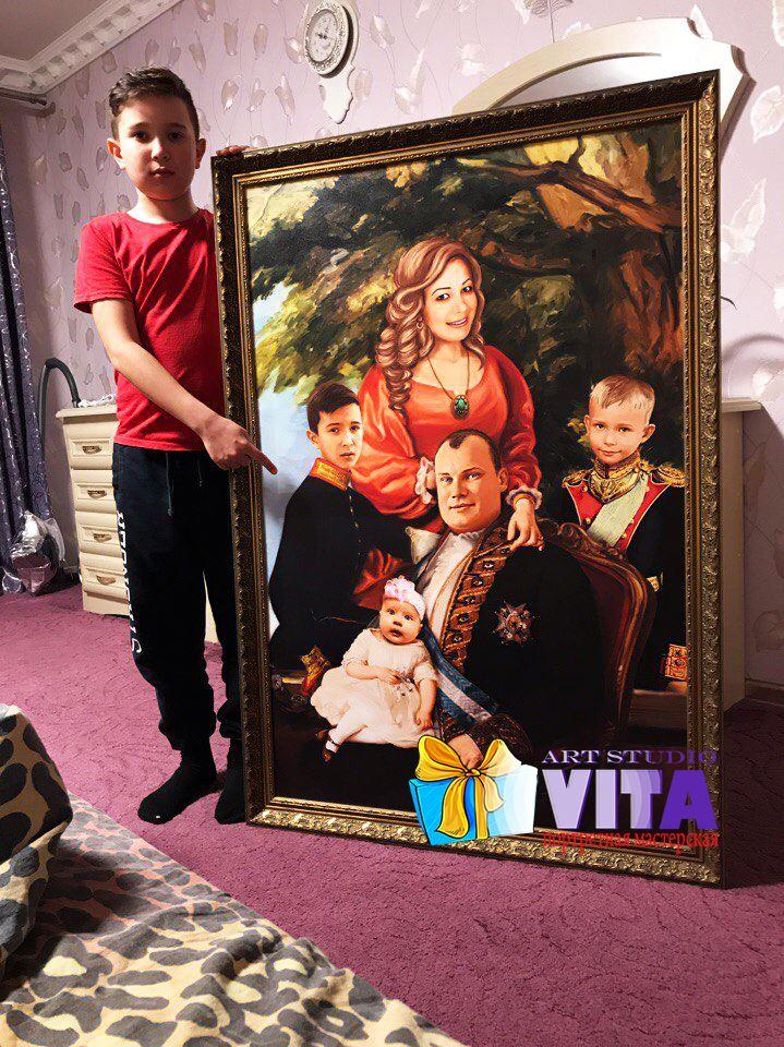 Исторический портрет в Вязьме