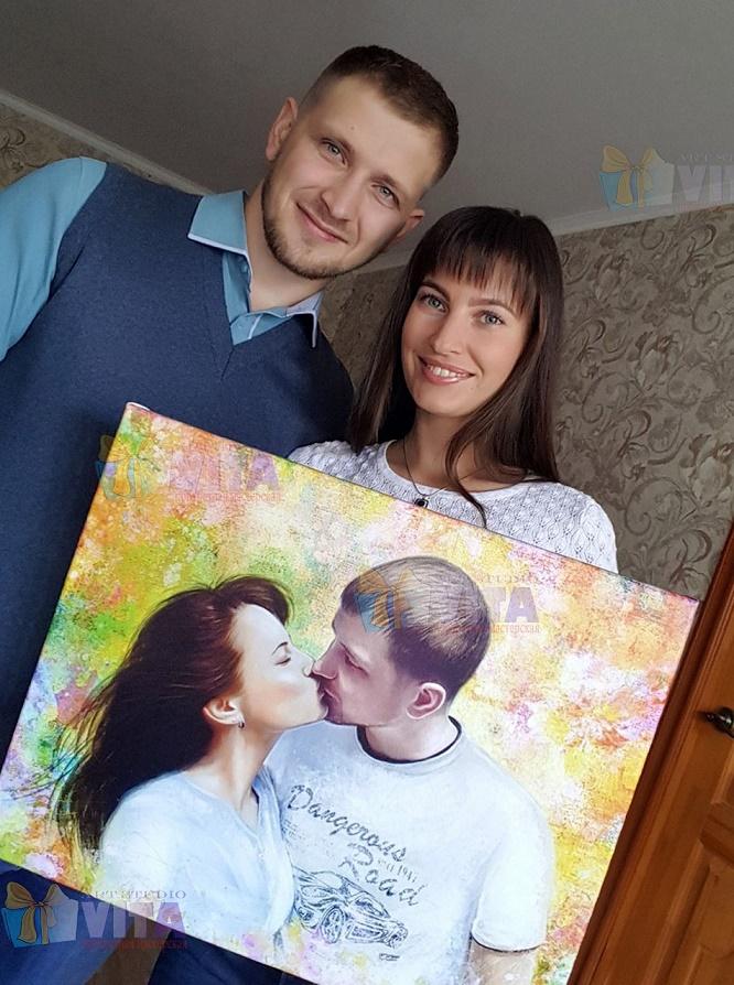 Портрет себе в Костроме