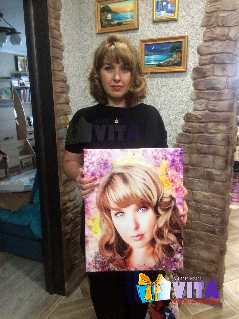 Портрет женщине
