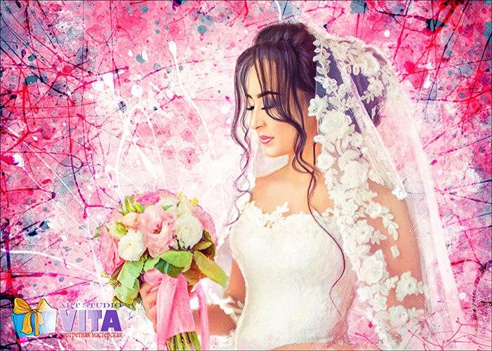 портрет на свадьбу в Балашихе