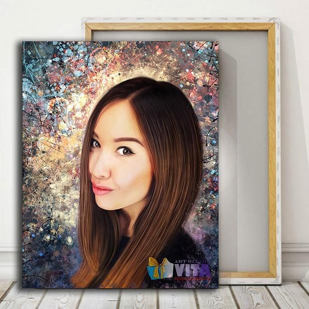 Портрет подруге в Вязьме