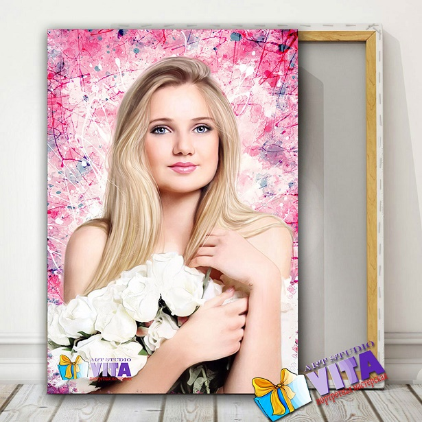 Портрет девушке в Рязани