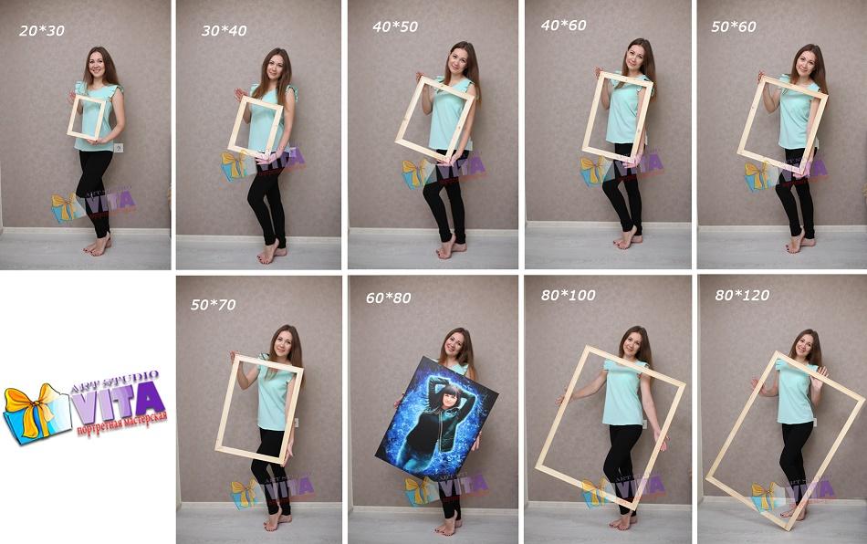 Форматы vita studio. Заказать шарж или портрет по фото